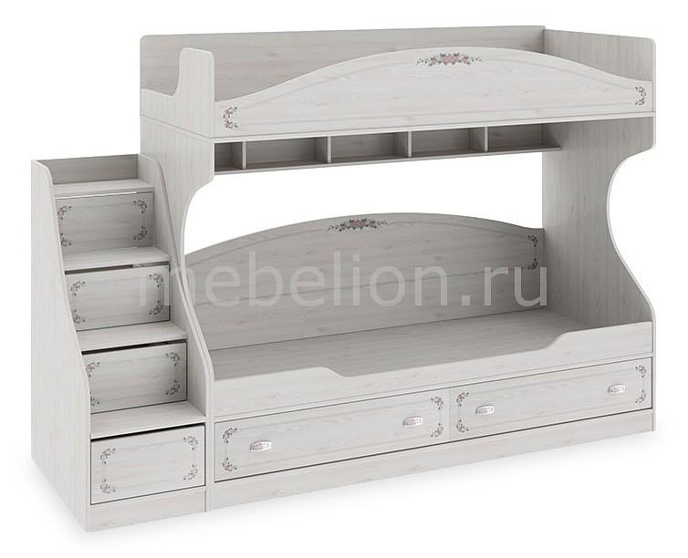 Кровать двухъярусная ТриЯ Ариэль СМ-280.11.01 детская двухъярусная кровать с лестницей ящиками трия см 250 11 12