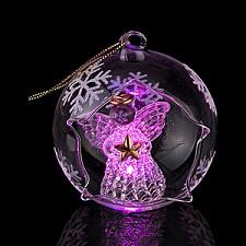 Елочный шар АРТИ-М (7.5 см) Ангелочек 594-052