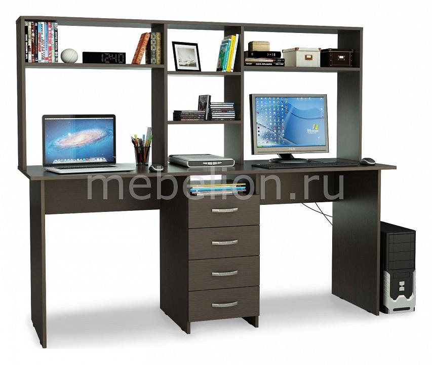 Стол компьютерный МФ Мастер Тандем-2 надстройка мф мастер тандем 2
