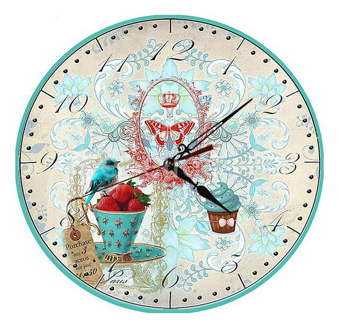 Часы настенные Акита (30 см) AKI C218