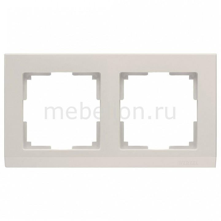 Рамка на 2 поста Werkel Stark WL04-Frame-02-ivory рамка на 2 поста werkel stark wl04 frame 02 ivory