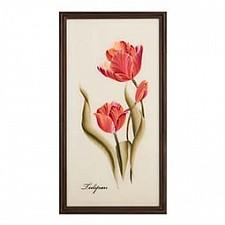 Панно (25х50 см) Цветы 354-765