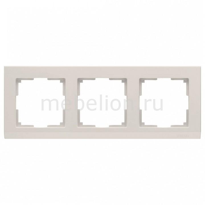 Рамка на 3 поста Werkel Stark WL04-Frame-03-ivory рамка на 2 поста werkel stark wl04 frame 02 ivory