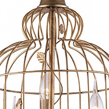 Подвесной светильник Arte Lamp A1865SP-3BG Gabbia