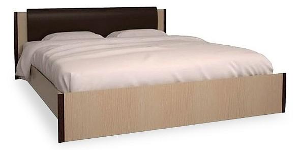 Купить Кровать двуспальная Новелла СТЛ.105.02-01 дуб кремона/венге, Столлайн, Россия