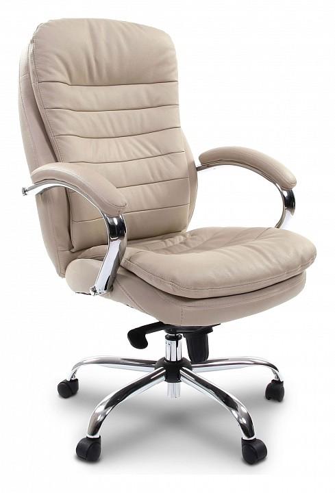 Кресло для руководителя Chairman 795 белый/хром, черный