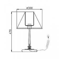 Настольная лампа Maytoni ARM093-00-R Soffia