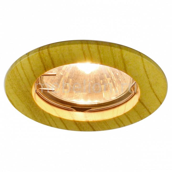Комплект из 3 встраиваемых светильников Arte Lamp A5452PL-3BR Wood
