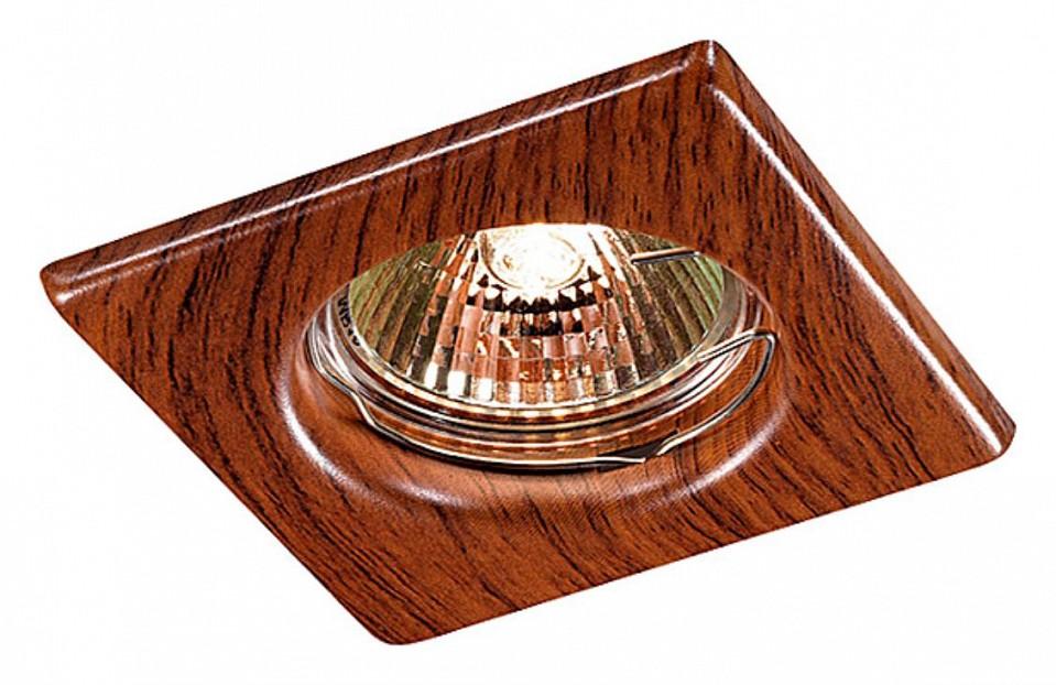 Купить Встраиваемый светильник Wood 369717, Novotech, Венгрия
