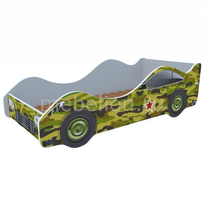 Кровать-машина Камуфляж M061