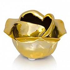 Подсвечник декоративный (10х8 см) Black & Gold 079166
