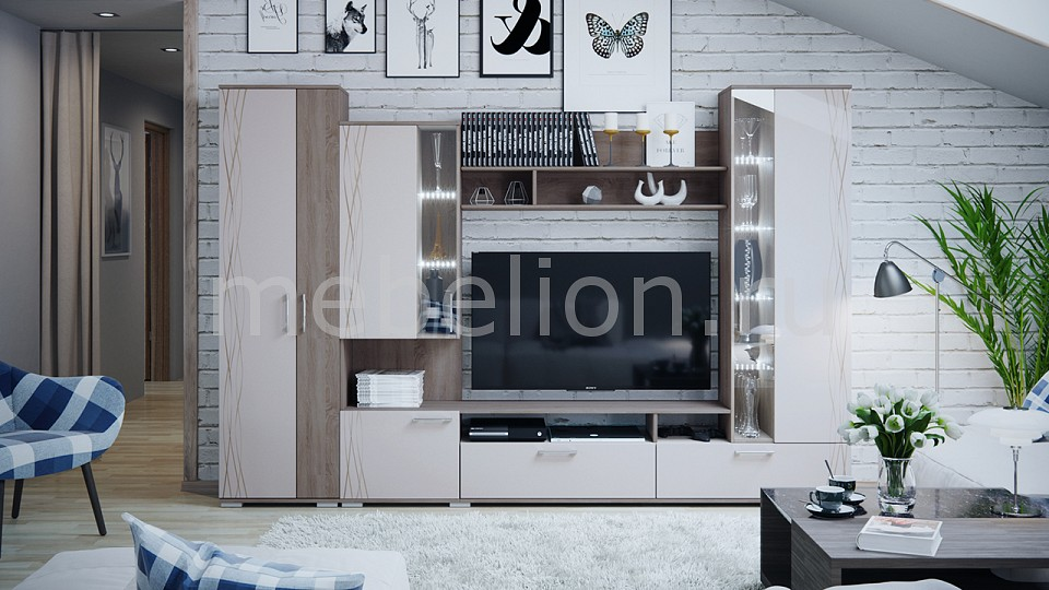 Стенка для гостиной Smart мебель Флай флай 450 горизонт 2 в харькове