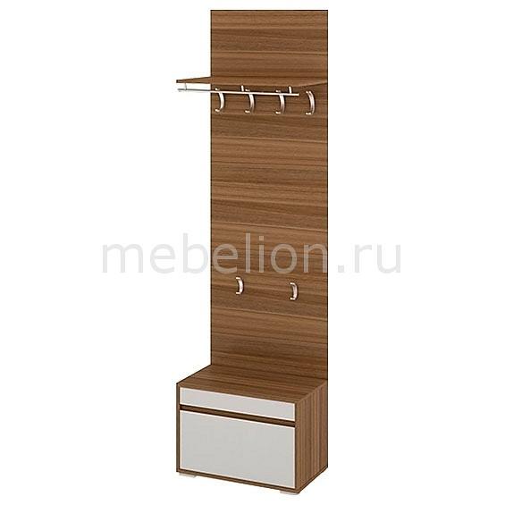 Вешалка напольная Мебель Трия Вешалка корпусная Авео ПМ-151.05 орех лион/каос линос корпусная мебель