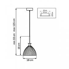 Подвесной светильник Lightstar 810020 Simple Light 810