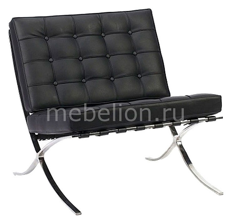Кресло DG-Home Barcelona Chair DG-F-SF303BLL стул barcelona dining chair белая натуральная кожа dg f ch563 1
