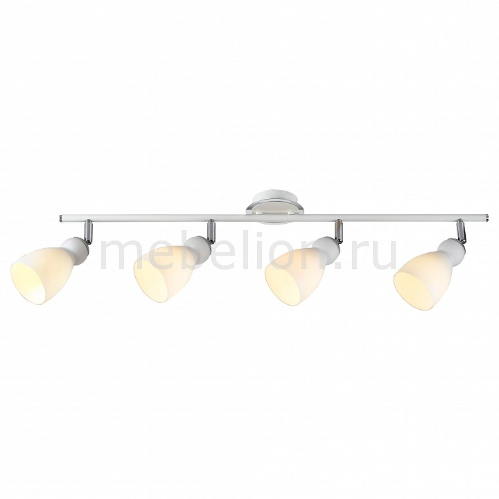 Спот Arte Lamp A4037PL-4WH Bulbo