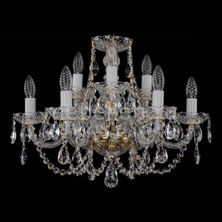 Подвесная люстра Bohemia Ivele Crystal 1406/6_3/195/G 1406
