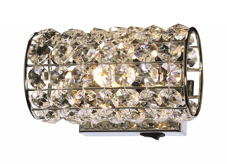 Накладной светильник Odeon Light Loden 2217/1W odeon light 2217 3w odl12 815 хром хрусталь подсветка с выкл g9 3 40w 220v loden