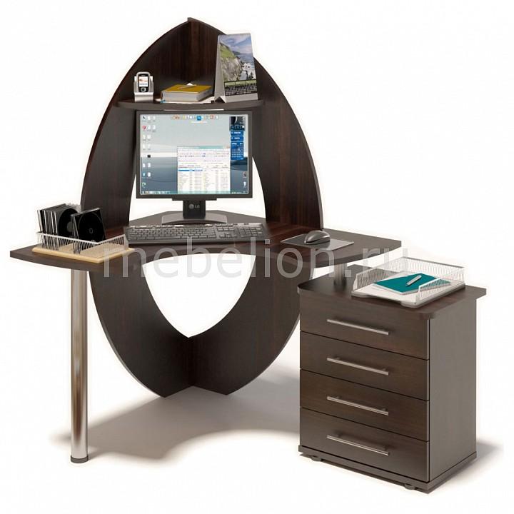 Стол компьютерный КСТ-101 + КТ-102
