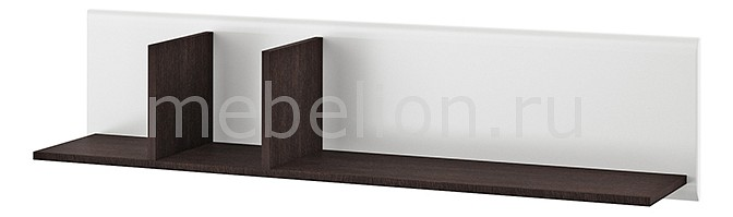 Полка навесная Мебель-Неман Тиффани МН-122-23 мебель неман орхидея сп 002 09 ольха