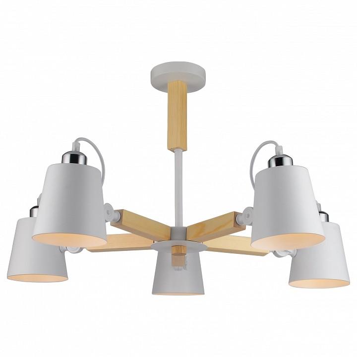 Люстра на штанге Arte Lamp 7141 A7141PL-5WH arte lamp a1743lm 5wh