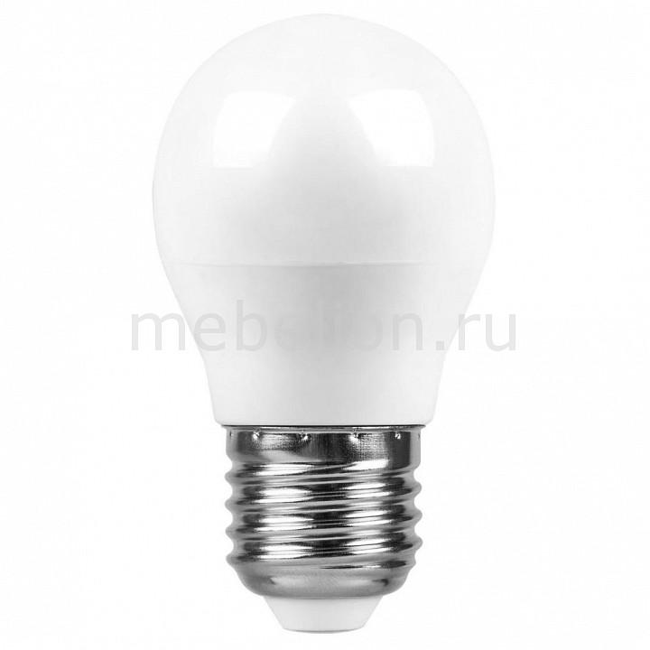 Лампа светодиодная Feron E27 220В 7Вт 4000 K SBG4507 55037 лампа светодиодная шар saffit sbg4507 e27 7w 4000k 55037