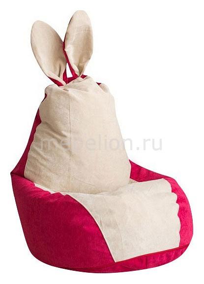 Кресло-мешок Dreambag Зайчик Крем-Малина кресло мешок dreambag зайчик бирюзовый