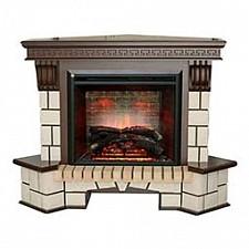 Электрокамин напольный Real Flame (142х99х105.8 см) Stone New Corner 00010010482
