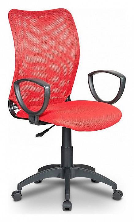 Кресло компьютерное Бюрократ Бюрократ CH-599/R/TW-97N компьютерное кресло бюрократ ch w797 r tw 97n
