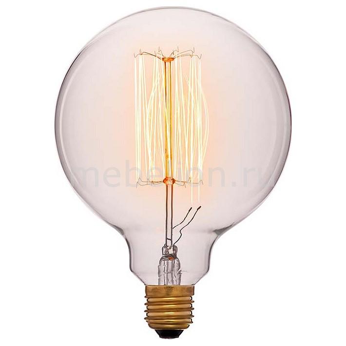 Лампа накаливания Sun Lumen G125 E27 240В 40Вт 2200K 052-016a