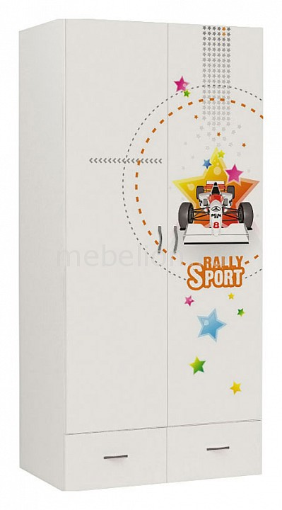 Шкаф платяной Advesta Sport