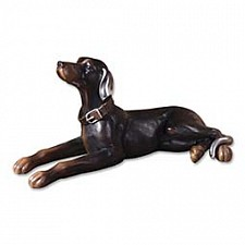 Статуэтка Uttermost (70х33 см) Resting Dog 19070