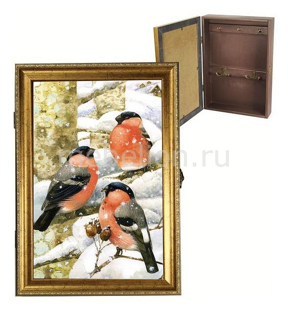 Ключница Акита (24х34 см) Снегирь 312-45