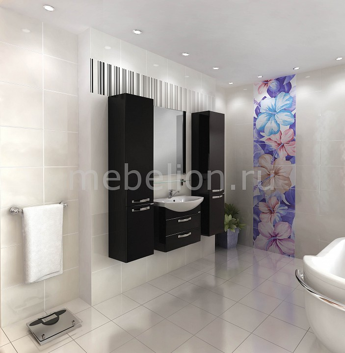 Гарнитур для ванной Акватон Ария 65М