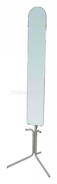 Зеркало напольное Мебелик Галилео 158 алюминий зеркало мебелик галилео 158 чёрный