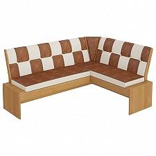 Уголок кухонный Мебель Трия Диван Кантри Т1 исп.3 ольха/коричневый