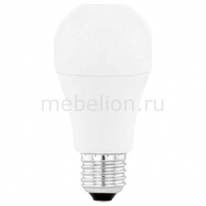 Лампа светодиодная [поставляется по 10 штук] Eglo Лампа светодиодная A60 E27 10Вт 4000K 11481 [поставляется по 10 штук] лампа светодиодная [поставляется по 10 штук] eglo лампа светодиодная g80 e27 2вт 2200k 11556 [поставляется по 10 штук]