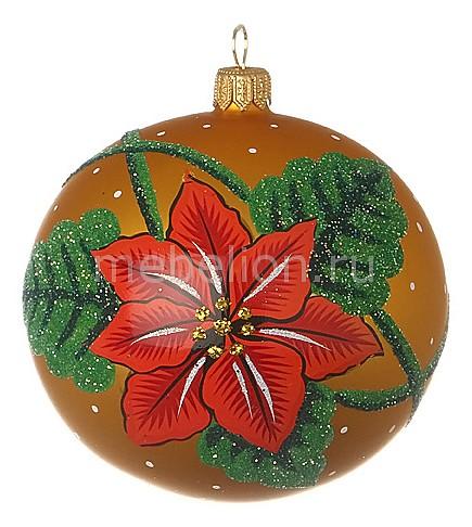 Елочный шар (9 см) Рождественская звезда 860-299