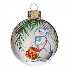 Елочный шар АРТИ-М (6 см) Зайка 860-543