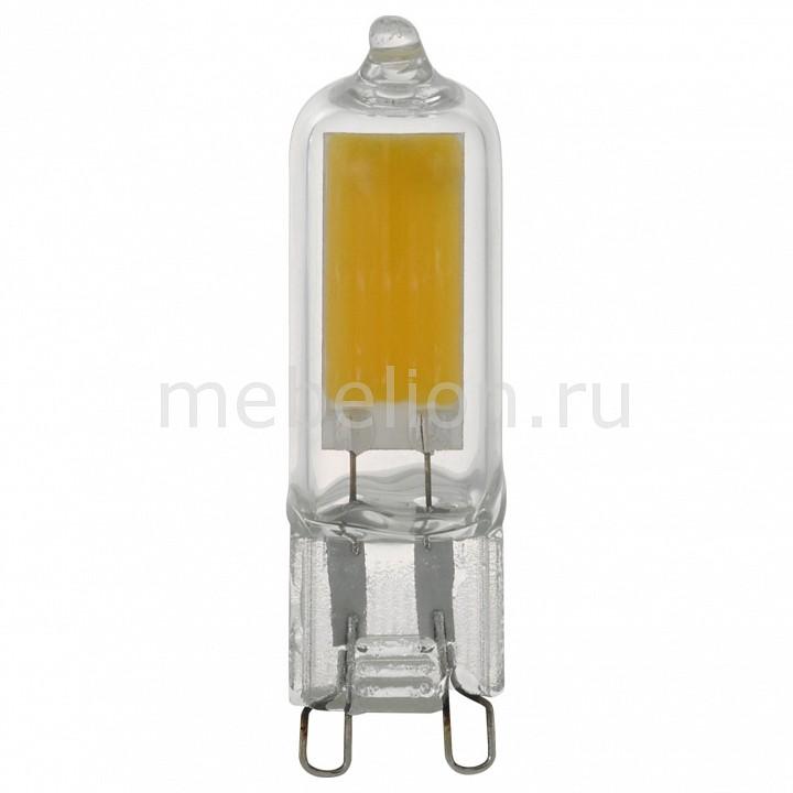 Комплект из 2 ламп светодиодных [поставляется по 10 штук] Eglo Комплект из 2 ламп светодиодных G9 2Вт 220В 4000K 11676 [поставляется по 10 штук] комплект из 2 ламп светодиодных eglo led лампы g4 2700k 220 240в 1 2вт 11551