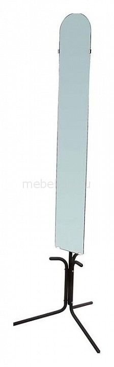 Зеркало напольное Мебелик Галилео 158 черный зеркало мебелик галилео 158 чёрный
