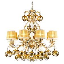 Подвесная люстра Arte Lamp A1199LM-8GO Monarch