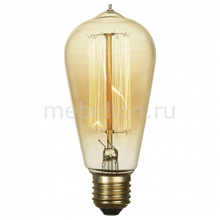 все цены на  Лампа накаливания Lussole Loft E27 60Вт 2800K GF-E-764  онлайн