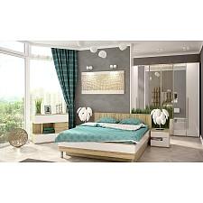 Гарнитур для спальни Ирма 15 дуб сонома/белый глянец