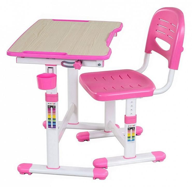 Набор учебный FunDesk Piccolino II Pink комплект fundesk piccolino ii pink