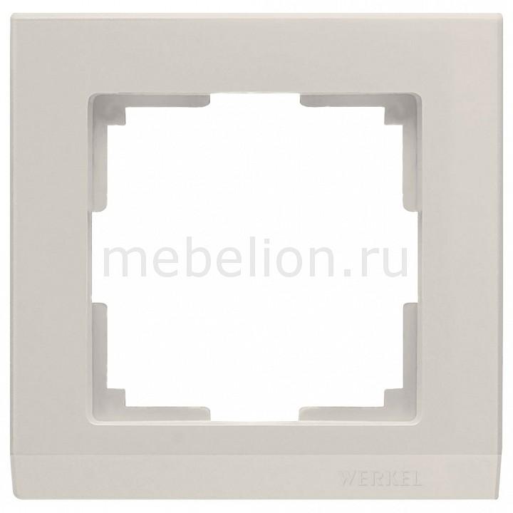 Купить Рамка на 1 пост Stark WL04-Frame-01-ivory, Werkel, Швеция