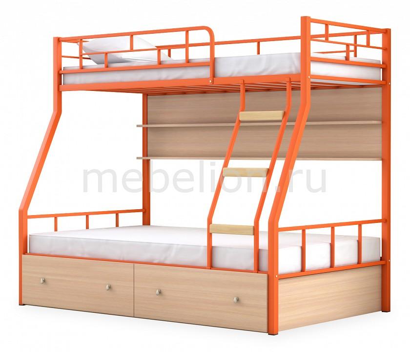 Кровать двухъярусная МФ 4 Сезона Радуга