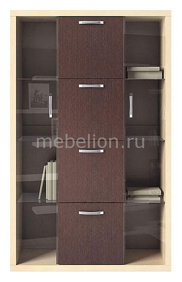 Шкаф-витрина Гриф МА-363 дуб феррара/клен/венге