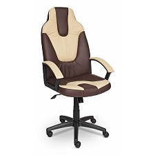 Кресло компьютерное Neo 2 коричневый/бежевый