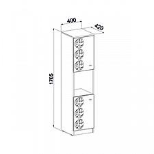 Шкаф комбинированный Маугли МДМ-13
